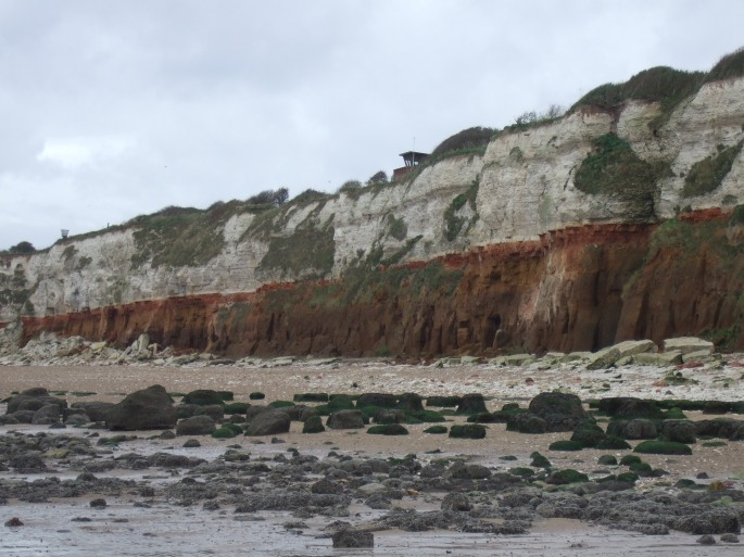 Old Hunstanton Layered Cliffs