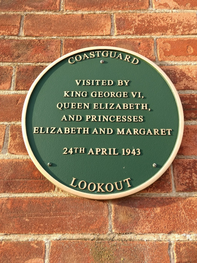 Coastguard Lookout Historic Plaque